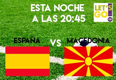 EspañaVSMacedonia