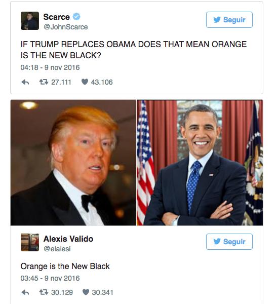 Chistes Trump Obama