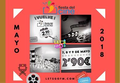 Fiesta del cine 7, 8 y 9 de mayo
