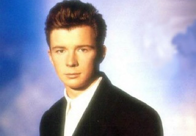 "Rick Astley versiona su clásico ""Never gonna give you up"""